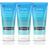 Neutrogena Hydro Boost Gentle Exfoliating Facial Cleanser with Hyaluronic Acid, Non-Comedogenic Oil-, Soap- & Paraben-Free Da