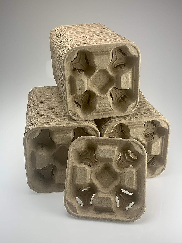 Footprint - 2502 4-Cup Drink Carriers 300 Pack