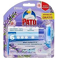 Desodorizador Sanitário Pato Gel Lavanda Aplicador GTS 6 DISCOS 12, Pato