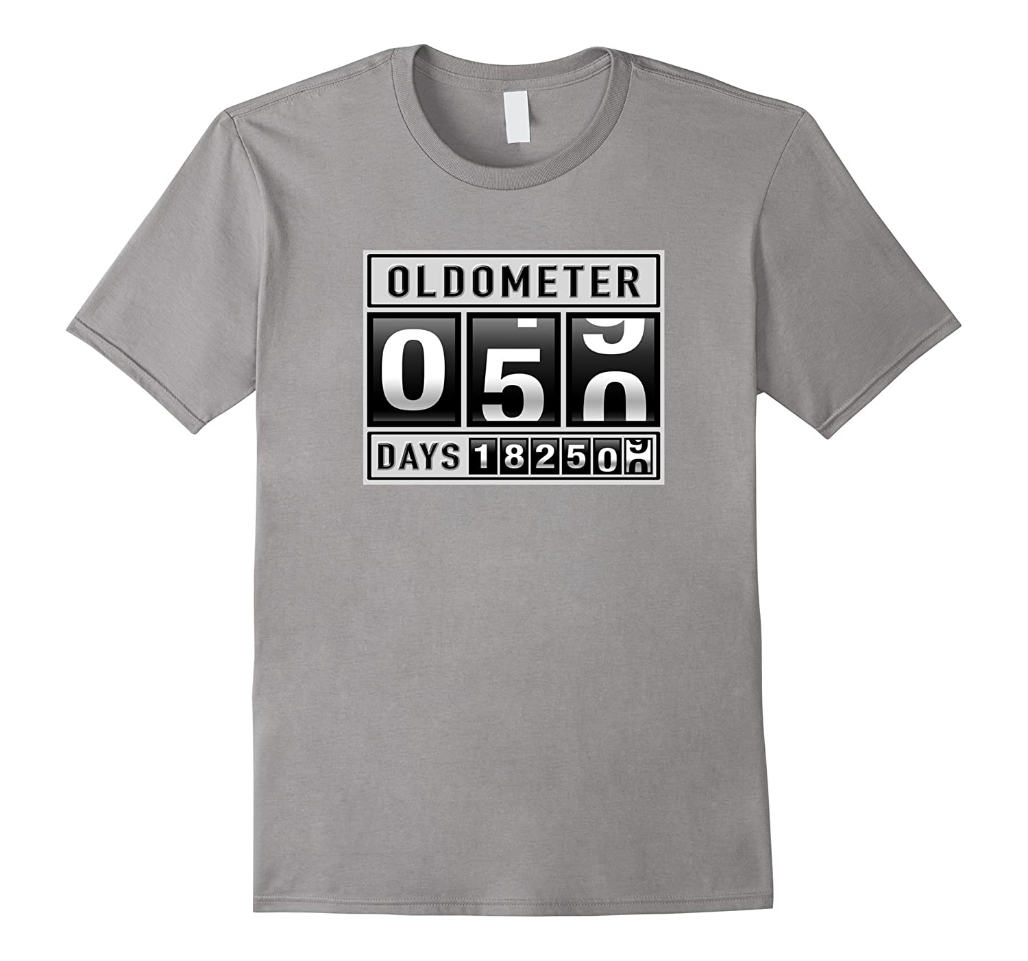 d115f05d OLDOMETER 50 Years Old T-Shirt Made In 1967 50th Birthday-ANZ ...