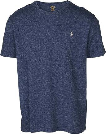 Polo Ralph Lauren hombres de cuello redondo camiseta: Amazon.es: Ropa y accesorios