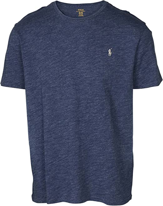 Polo Ralph Lauren hombres de cuello redondo camiseta: Amazon.es ...