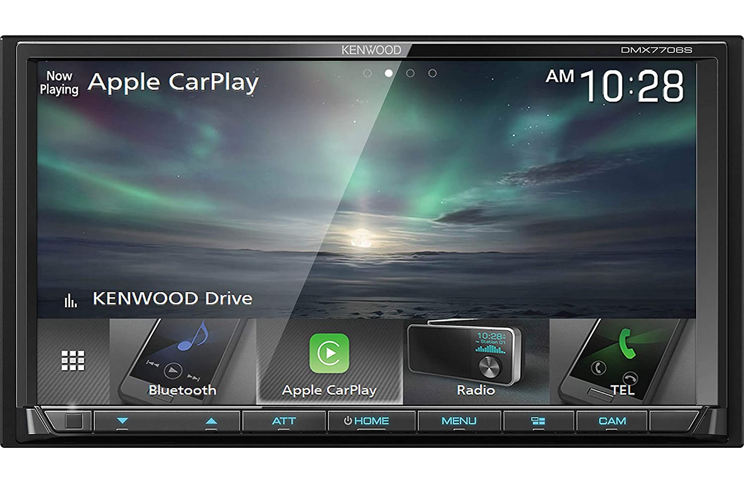 Kenwood DDX375 2-Din 6 2 Inch Monitor Receiver with Bluetooth