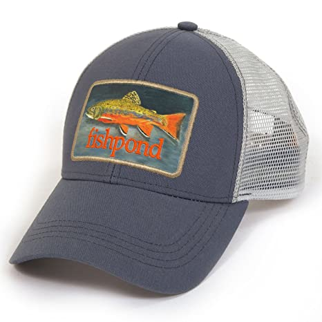 Amazon.com   Fishpond Brookie Hat Dusk Trucker Hat Fly Fishing ... 9b168d84e5b