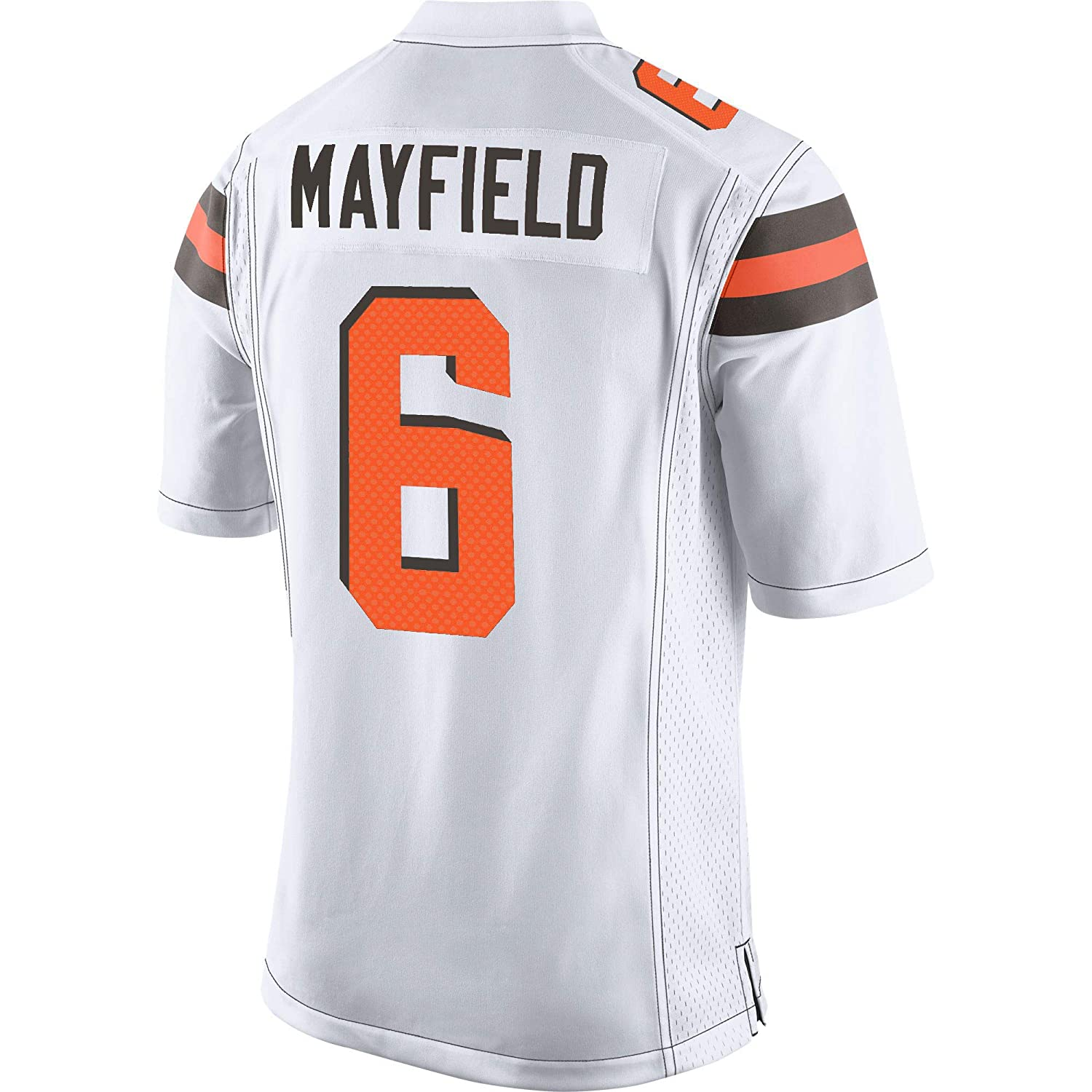 TOU DLE Men's Women's Youth_Baker_Mayfield_White_Player_Game_Jersey