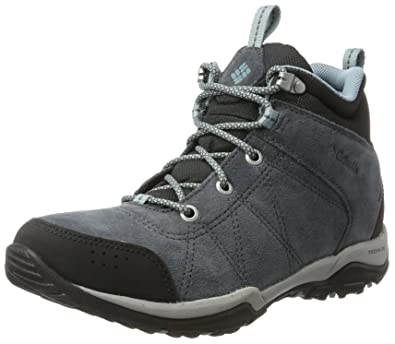 Hiking Waterproof Boot Fire Women's Mid Columbia Graphite Venture XpPqUw