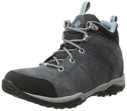 8132e92ecee Columbia Women's Fire Venture Mid Waterproof Low Rise Hiking Boots