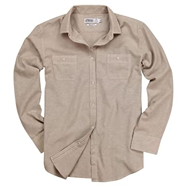 336a267a2c Urban Boundaries Womens Long Sleeve Soft Chambray Casual Shirt