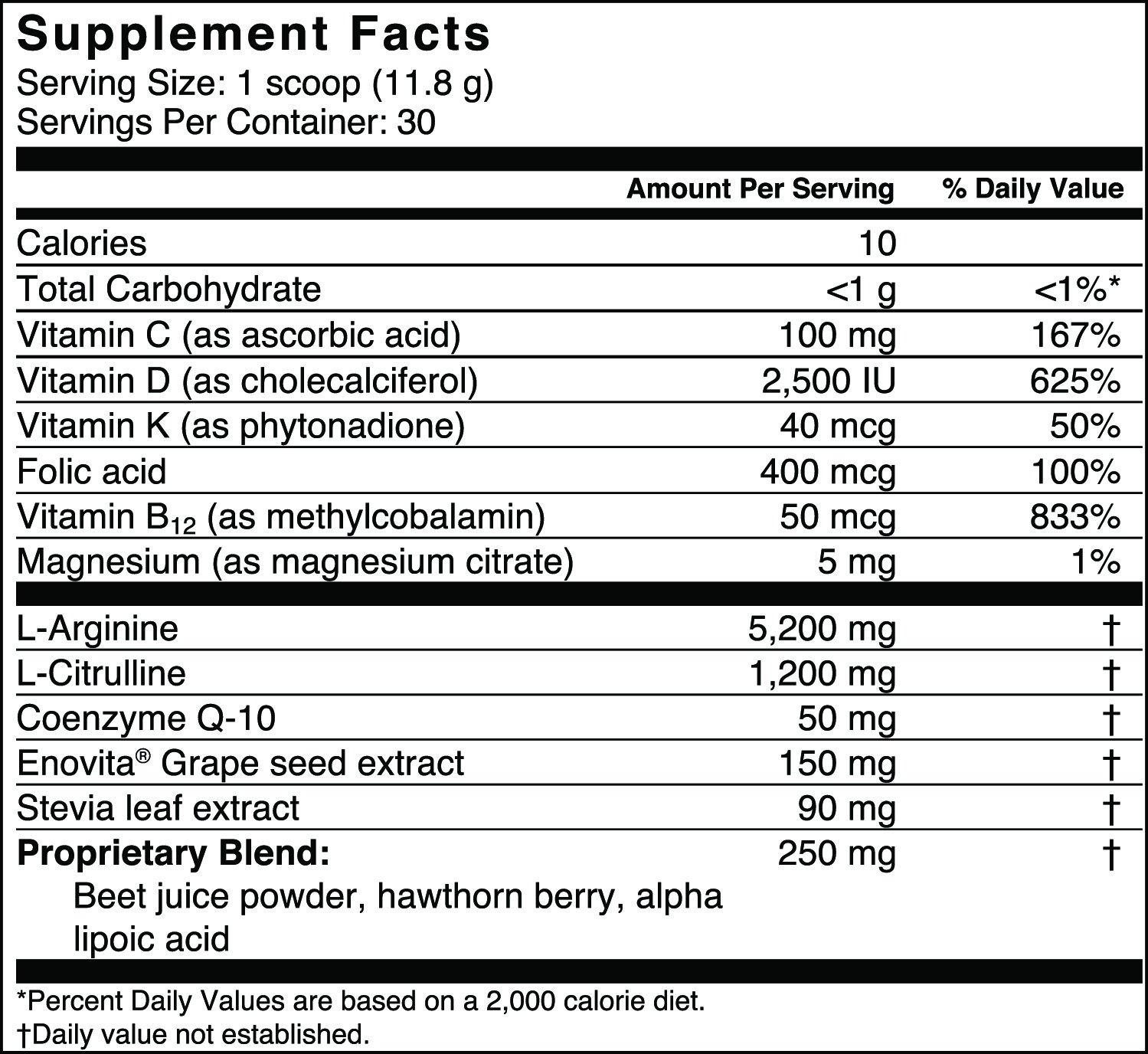 Cardio Defender - Cardio Heart Health - L-Arginine Supplement with 5,200mg L-Arginine & 1,200mg L-Citrulline - Heart Health Drink Mix - Supports Blood Pressure, Cholesterol & Energy by Cardio Defender