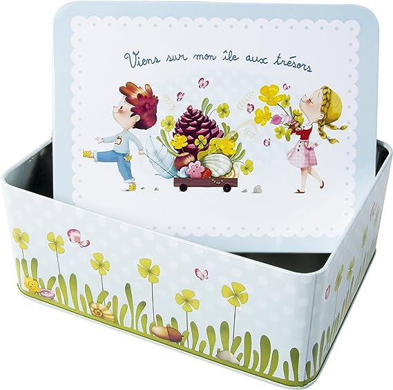 Avenue Mandarine - Caja para Tesoros de 7.1 x 13.1 x 17.1 cm (62416O): Amazon.es: Juguetes y juegos