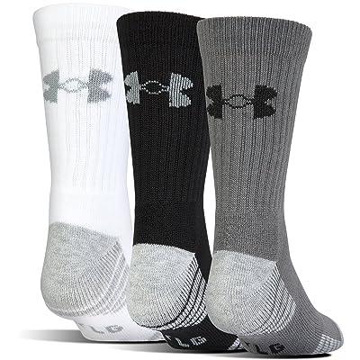Under Armour Men's Heatgear Tech Crew Socks (3 Pair Pack)