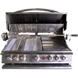 Cal Flame BBQ13P05 5 Burner Built In Grill No Conversion Kit