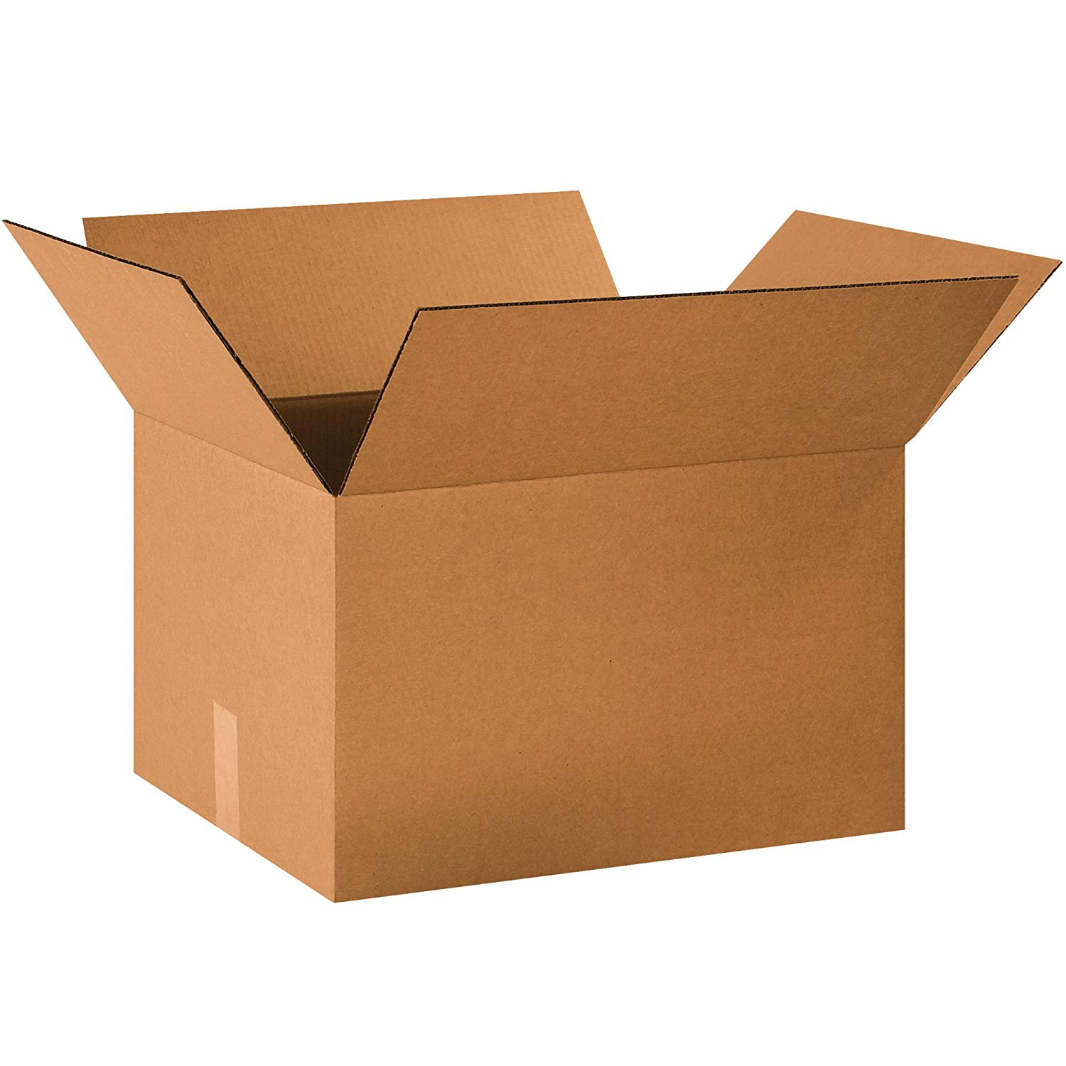 25-16 x 12 x 6 Corrugated Shipping Boxes Packing Storage Cartons Cardboard Box