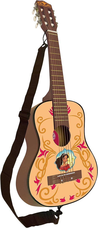 Elena de Avalor K2000El Disney Guitarra Clásica De 6 Cuerdas, 78 cm Largo, Material de Madera (Lexibook