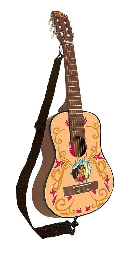 Elena de Avalor Disney Guitarra Clásica De 6 Cuerdas, 78 Cm Largo, Material De
