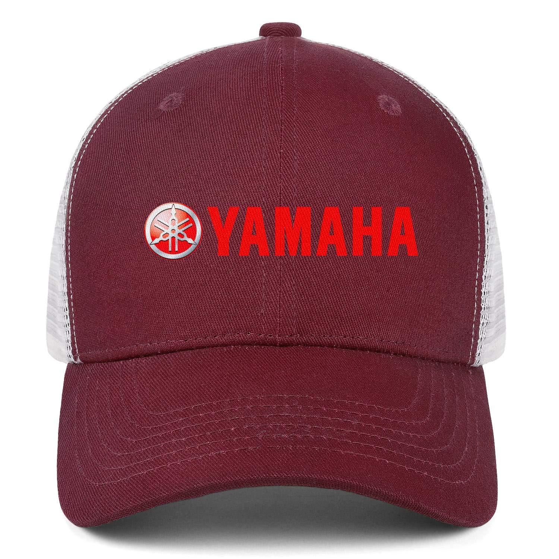 Snapback Classic Mesh Hats Cotton Dad Caps Yamaha-Motorcycle