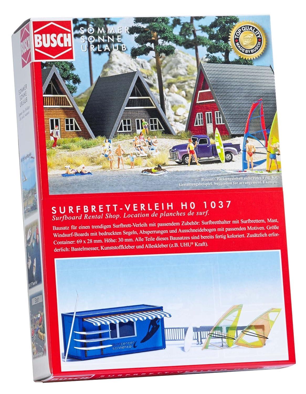 Busch 1037 - Tabla de Surf de alquilados, Vehículo: Amazon.es: Juguetes y juegos