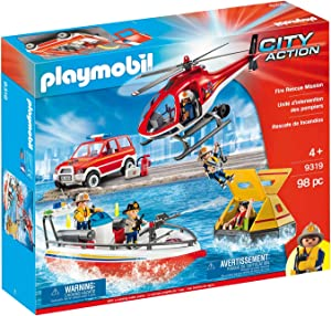 Playmobil Fire Rescue Mission [Amazon Exclusive]