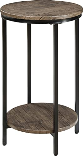 Abington Lane Two-Tiered Round End Table