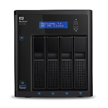 WD My Cloud DL4100 NAS Vista