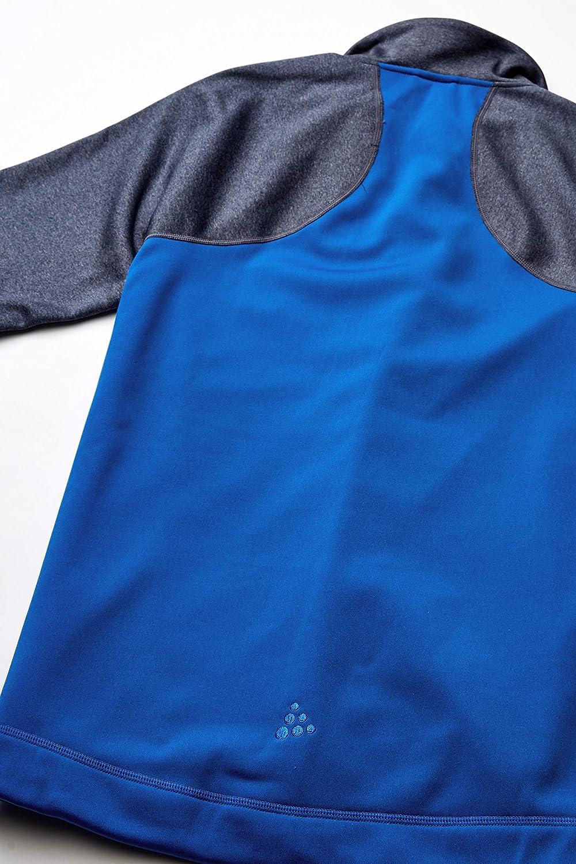 Craft Mens Sports Fleece Half Zip Midlayer Training Jacket