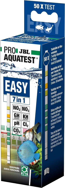 JBL Proaqua Test Easy 7 In 1, 50 tiras, 100 g