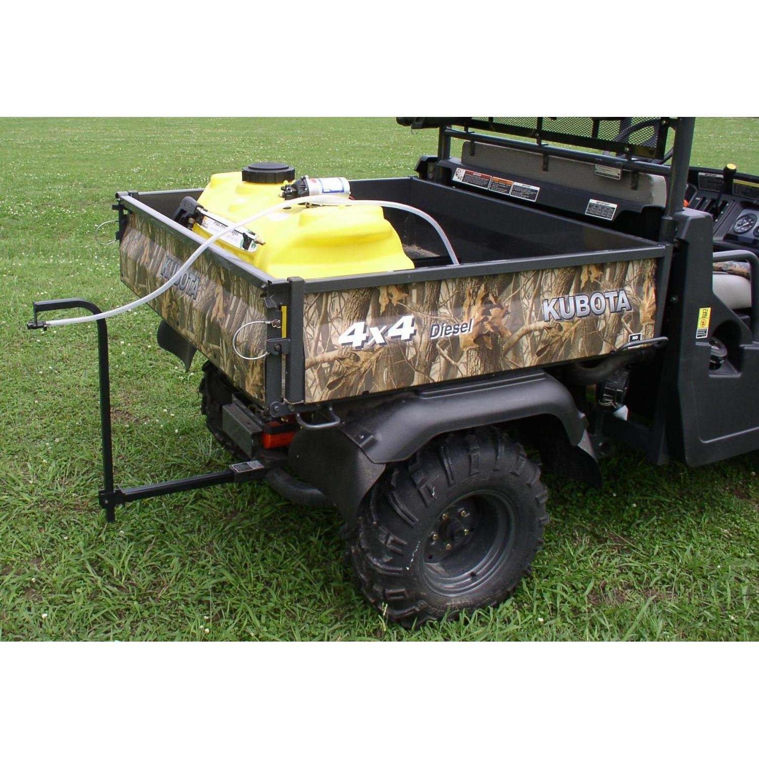 Great Day PLP2509-UTV 2'' Spray System (Plot-Pro 25 Gal. UTV 2'' Receiver 1.8 GPM)