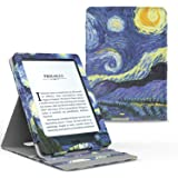 Capa Kindle Paperwhite WB® Premium Vertical Auto Hibernação Van Gogh