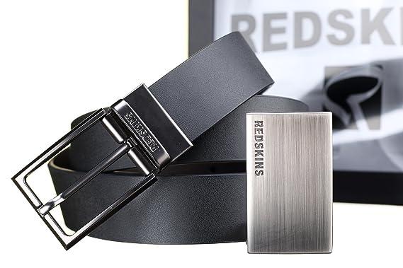 24f339059a59 Redskins ceinture coffret class noir U Taille Unique  Amazon.fr ...