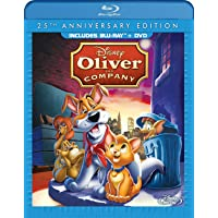 Oliver and Company: 25th Anniversary Edition [Blu-ray + DVD] (Bilingual)