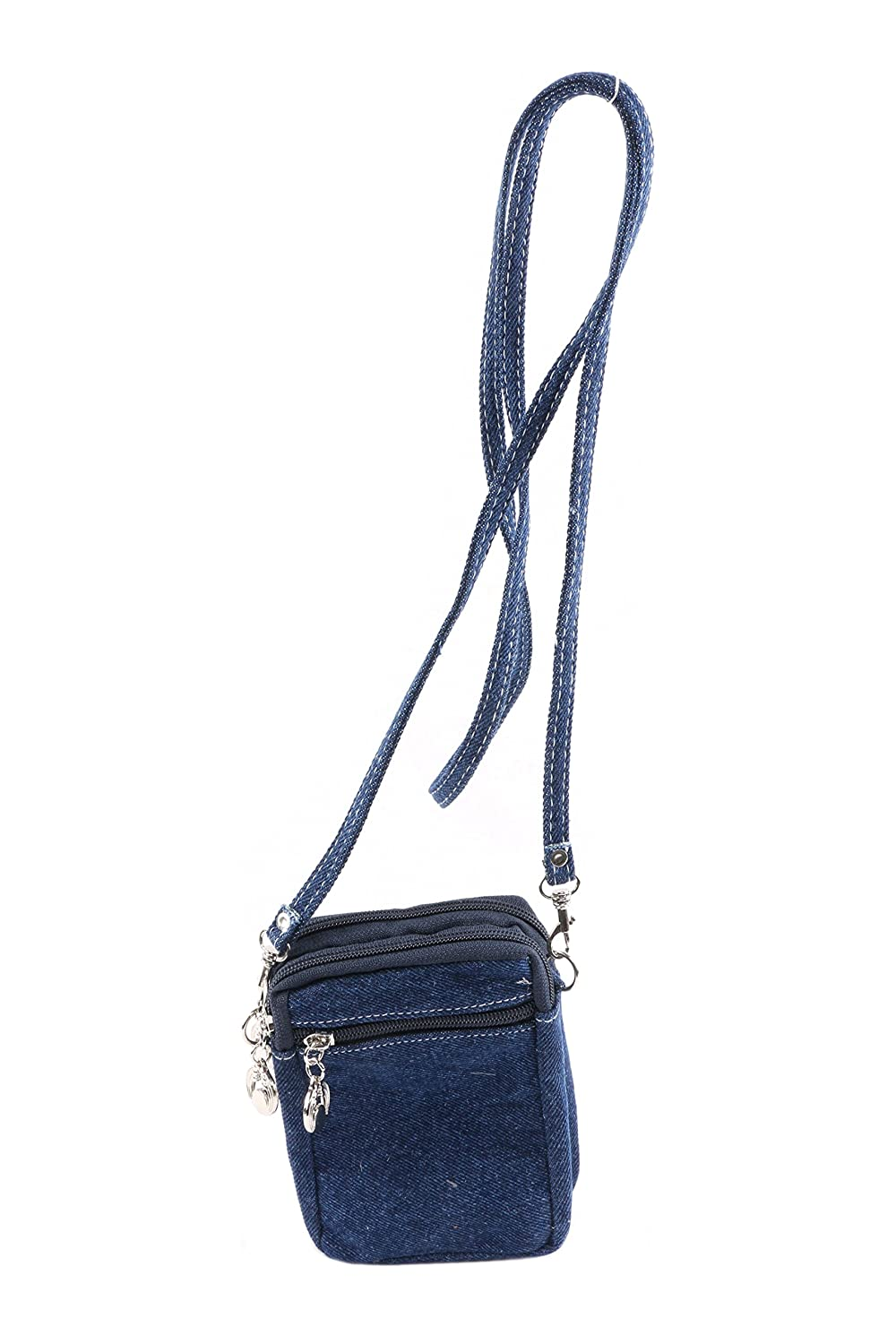 Jeans Material Side Sling Bag With Long Adjustable Strap  Amazon.in  Shoes    Handbags d93c74b3b803b