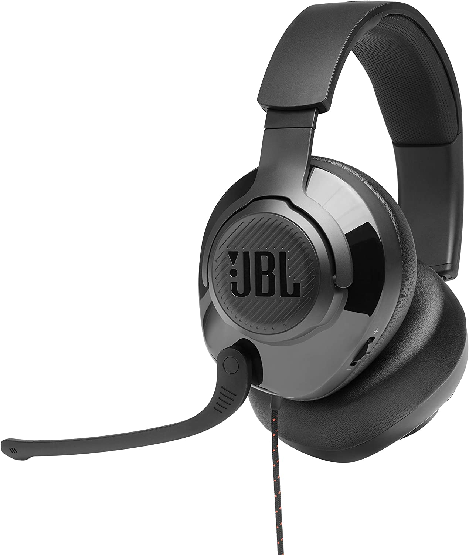 Auriculares Gamer Over Ear Jbl Quantum 300, Negro