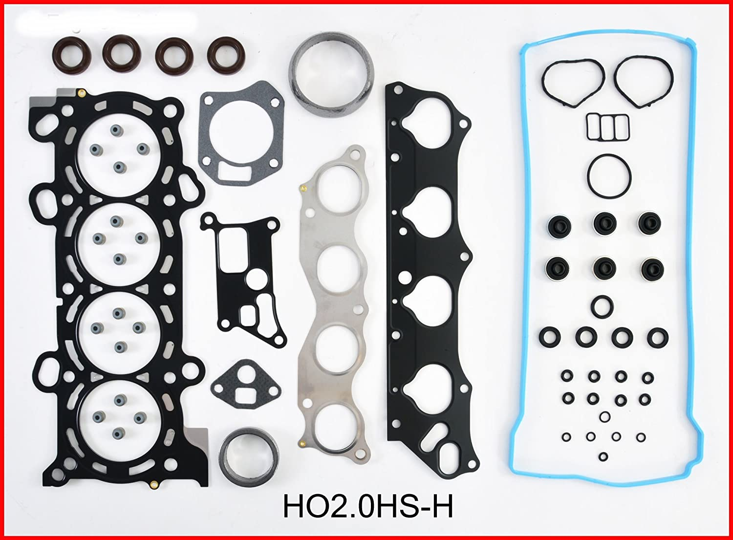 ReRing Kit w//Full Gasket Set Rings Bearings FITS 2006-2011 Honda Civic Si VTEC 2.0L DOHC K20 K20Z3
