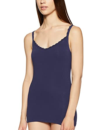 e0cb7e213f3fe2 Marks   Spencer Women s Cotton Lace Trim Camisole  (0000006814311 T615075NIGHTSHADE6)