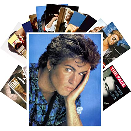Amazon com: Postcard Set 24 cards GEORGE MICHAEL Posters