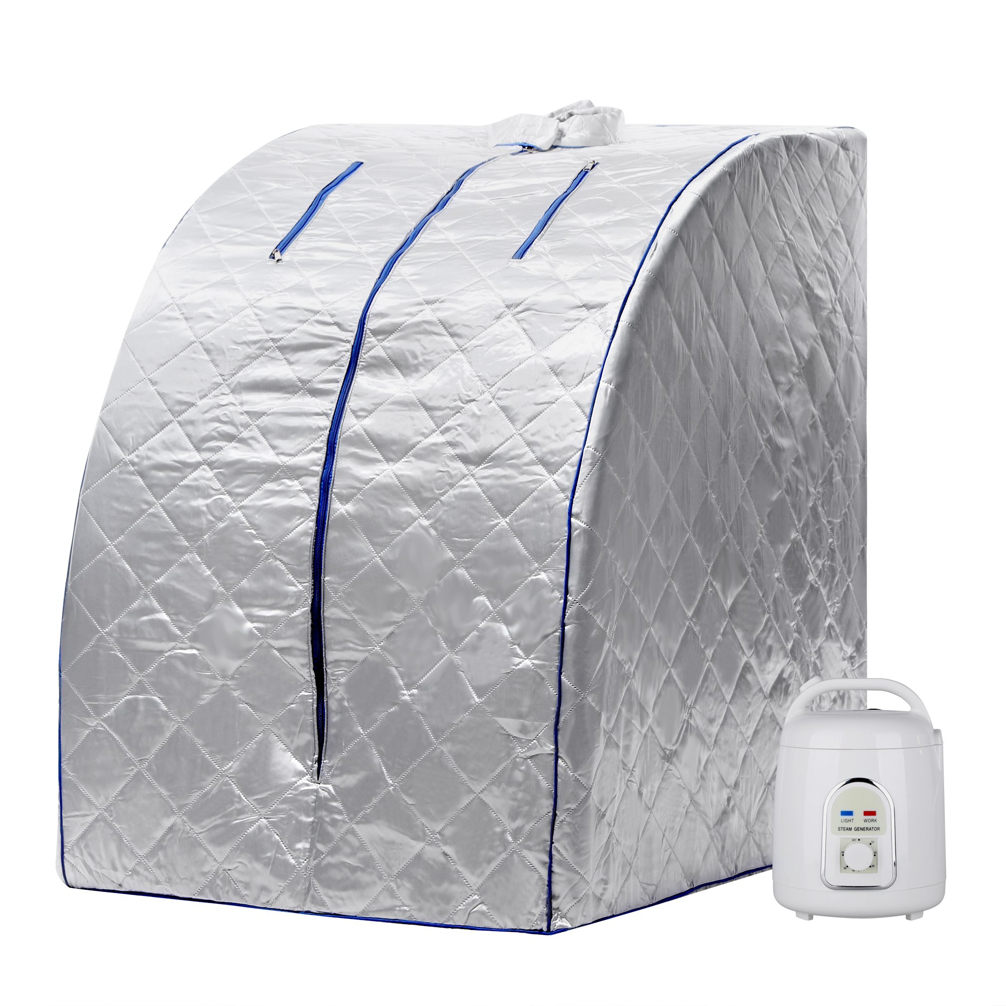 Flyerstoy Home Portable Sauna Indoor Steam Sauna Room for Detox and Weight Loss 850W (US STOCK) by Flyerstoy