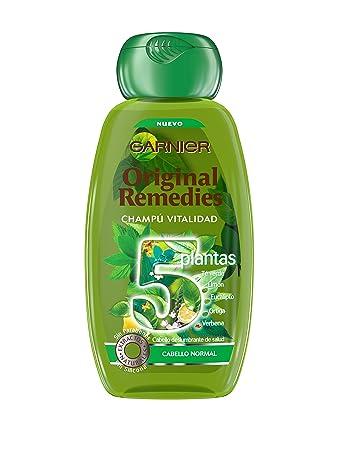 ORIGINAL REMEDIES champú 5 plantas 250 ml