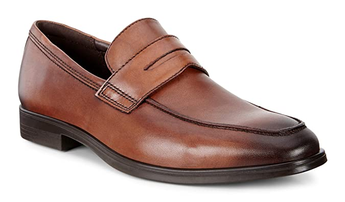 码全 ECCO 爱步 Melbourne 墨本系列 男式乐福鞋 5折$79.99 海淘转运到手约¥653