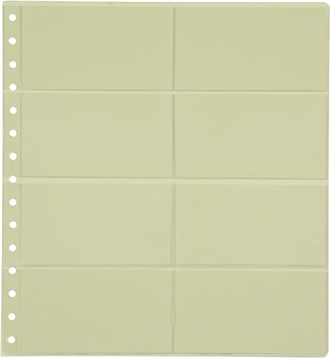 Pardo 102800 - Pack de 10 fundas transparente, 8 departamentos: Amazon.es: Oficina y papelería