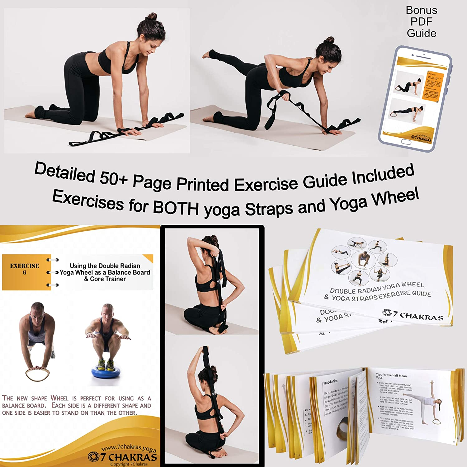 50 Page Colour Printed Exercise Guide for Stretching Exercises 50 ...