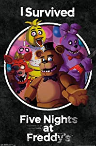 Trends International Five Nights at Freddy's - Survived Wall Poster, 22.375