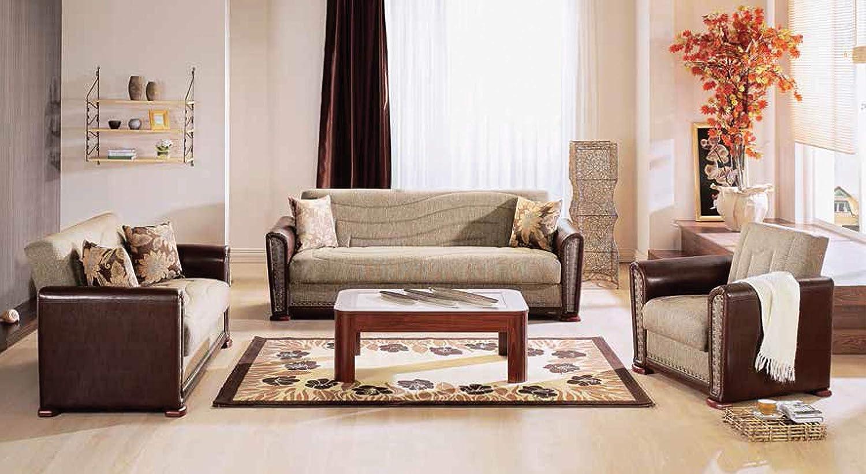 Amazon.com: Alfa sofá cama en redeyef café: Home & Kitchen