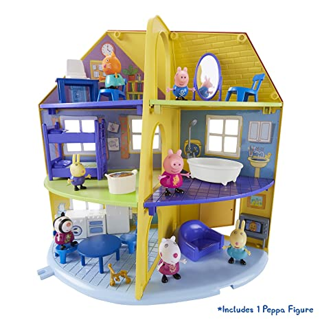 e29a2a7bb93edc Peppa Pig, 06384 - Gioco per Bambini, casa della Famiglia di Peppa ...