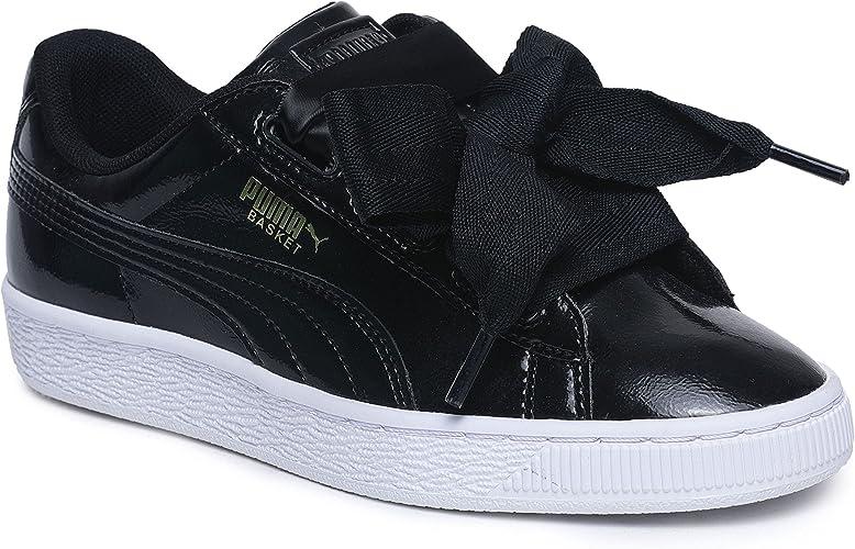 PUMA Basket Heart Glam Jr, Sneakers Basses Mixte Enfant