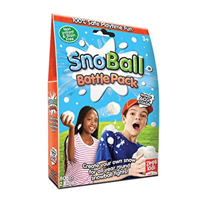 ZIMPLI KIDS LIMITED Snoball Battle Pack-60 Snoball Pack: Toys & Games