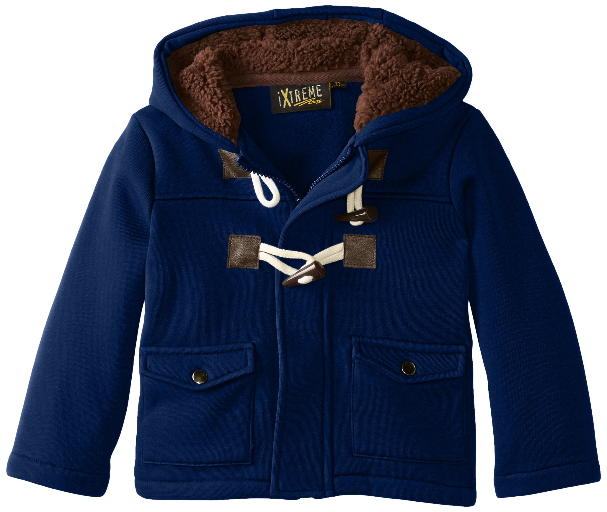 iXtreme Big Boys' Toggle Fleece, Navy, 14-16
