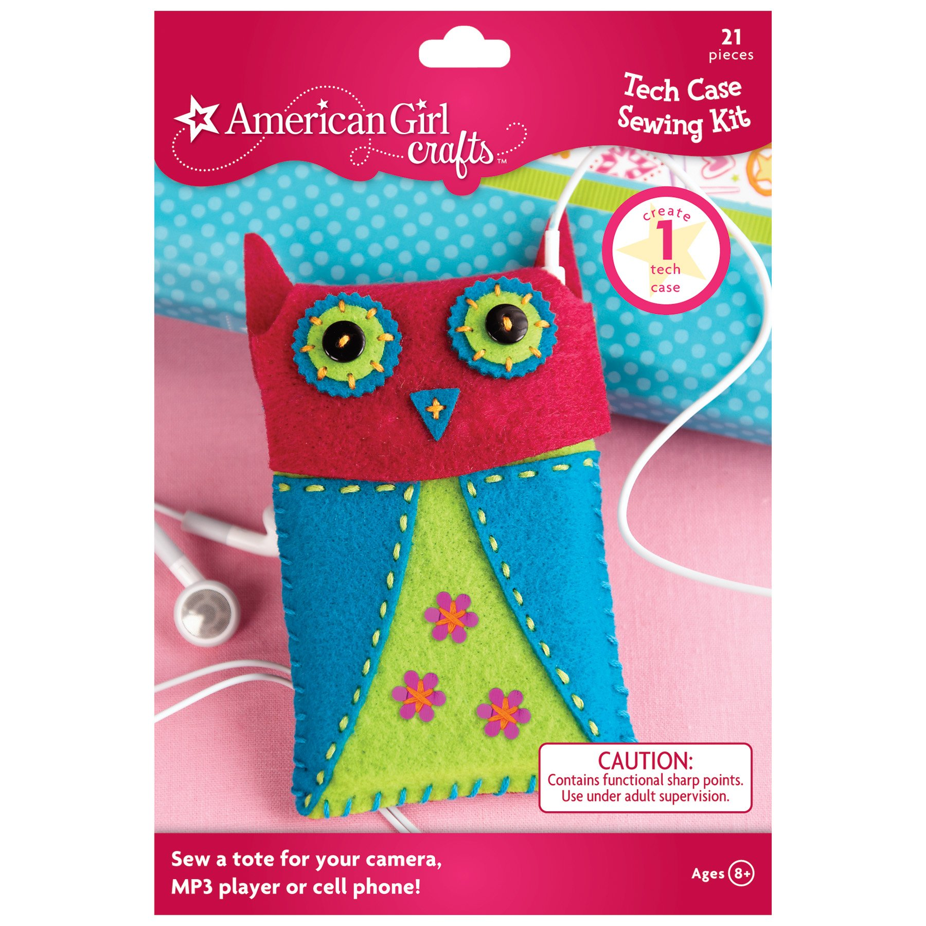 American Girl Crafts Tech Case Sewing Kit 2