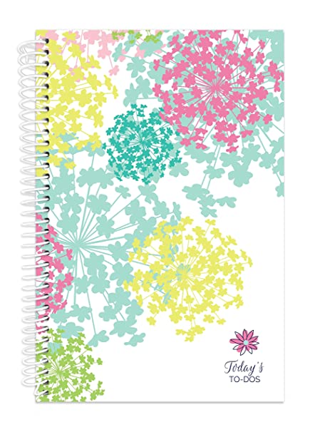 2017 prints and patterns binder pad calendar