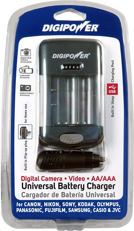 DigiPower TC-U450 Universal Camera Battery Charger (Black)