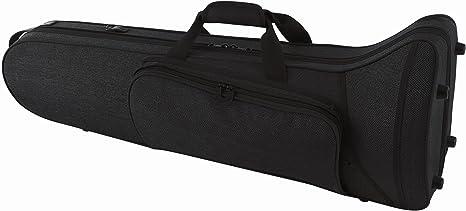GEWA 708334 - Estuche con forma para trombón tenor, serie Compact, ligero, exterior color negro: Amazon.es: Instrumentos musicales